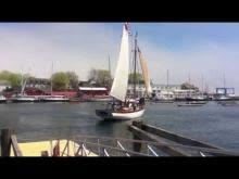 Schooner Olad: first sail of 2013
